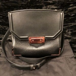 Alexander Wang Leather Bag with Rose Gold Accents